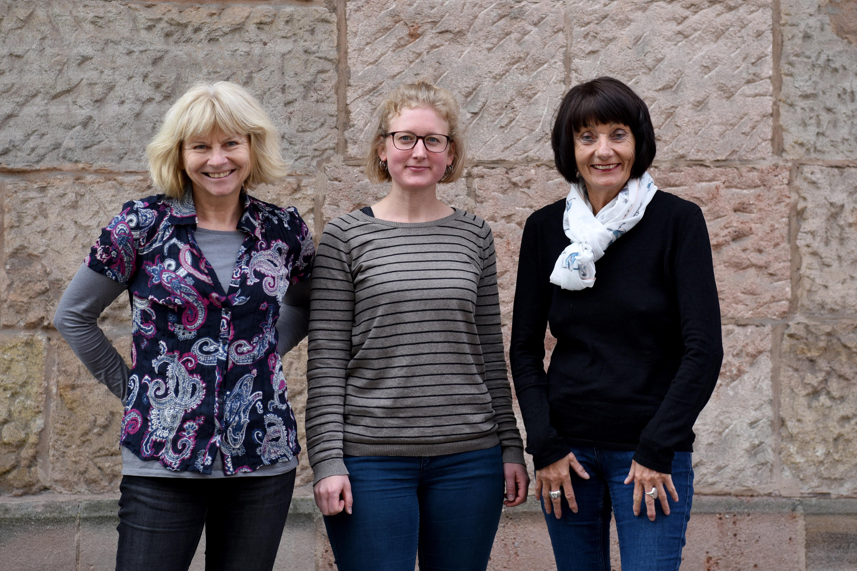 Team Strassenkreuzer Uni, Ilse Weiss, Susanne Thoma, Barbara Kressmann