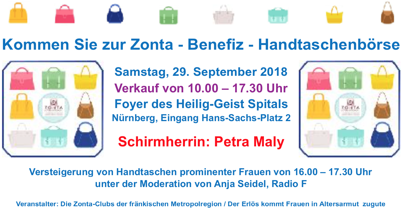 Zonta_Benefiz_Handtasche_Flyer