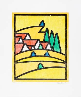 Udo Kaller, vier Jahreszeiten, Sommer