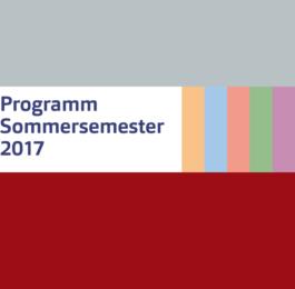 Sommersemester 2017