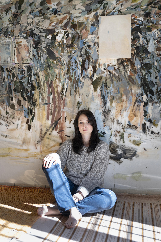 Nazzarena Poli Maramotti nel suo studio a Cavriago. Foto © Masiar Pasquali